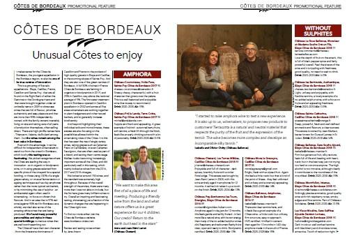 Decanter article - Unusual Côtes to enjoy - Dec 19